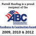 Excellence in Construction Award